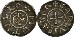 World Coins - Coin, France, Charles II, Denarius, Melle, , Silver, Prou:692