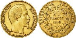 World Coins - Coin, France, Napoleon III, Napoléon III, 20 Francs, 1852, Paris,