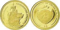 World Coins - Coin, Palau, Dollar, 2007, , Gold, KM:337