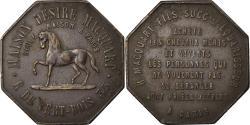 World Coins - France, Token, Publicitaire, Maison Macquart, Equarisseur à Paris,