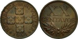 World Coins - Coin, Portugal, 20 Centavos, 1968, , Bronze, KM:584