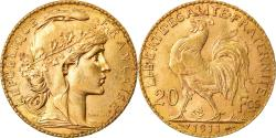 Ancient Coins - Coin, France, Marianne, 20 Francs, 1911, Paris, , Gold, KM:857