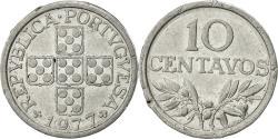 World Coins - Portugal, 10 Centavos, 1977, , Aluminum, KM:594