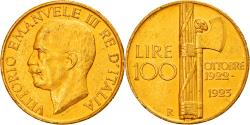 World Coins - Coin, Italy, Vittorio Emanuele III, 100 Lire, 1923, Rome, , Gold, KM:65