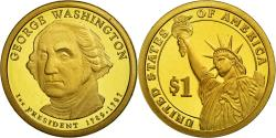 Us Coins - Coin, United States, Dollar, 2007, U.S. Mint, George Washington,