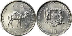 World Coins - Coin, Somalia, 10 Shillings / Scellini, 2002, , Aluminum, KM:46