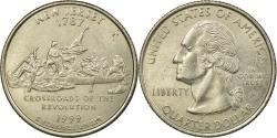 Us Coins - Coin, United States, New Jersey, Quarter, 1999, U.S. Mint, Philadelphia