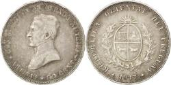 World Coins - URUGUAY, 50 Centesimos, 1917, KM #22, , Silver, 30, 12.51