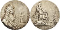 World Coins - France, Medal, Chambre de commerce de Reims, Coudray, , Silver