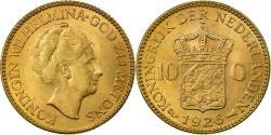 World Coins - Coin, Netherlands, Wilhelmina I, 10 Gulden, 1926, , Gold, KM:162