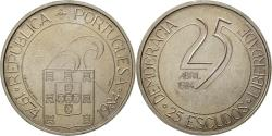 World Coins - Coin, Portugal, 25 Escudos, 1984, , Copper-nickel, KM:Pr27