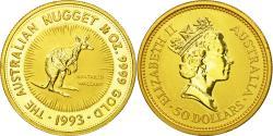 World Coins - Coin, Australia, Elizabeth II, 50 Dollars, 1993, , Gold, KM:236