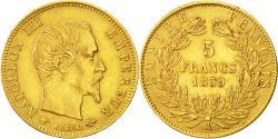 Ancient Coins - Coin, France, Napoleon III, Napoléon III, 5 Francs, 1859, Paris,