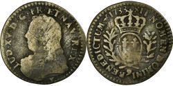 World Coins - Coin, France, Louis XV, 1/20 Ecu, 1733, Rennes, , Silver, Gadoury:283