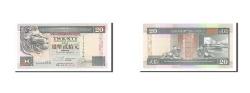 World Coins - Hong Kong, 20 Dollars, 1993, KM #201a, 1993-01-01, UNC(65-70), AA124464