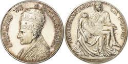 World Coins - Vatican, Medal, Michelangelo, La Pieta, Paulus VI, , Silver