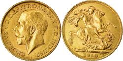 World Coins - Coin, INDIA-BRITISH, George V, Sovereign, 1918, Bombay, , Gold, KM:525A