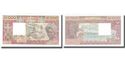 World Coins - Banknote, West African States, 10,000 Francs, KM:709Km, AU(50-53)