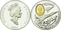 World Coins - Coin, Canada, Elizabeth II, 20 Dollars, 1996, Royal Canadian Mint, Ottawa