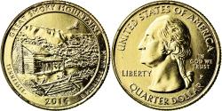 Us Coins - Coin, United States, Great Smoky Mountains, Quarter, 2014, U.S. Mint,