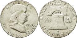 Us Coins - Coin, United States, Franklin Half Dollar, Half Dollar, 1963, U.S. Mint, Denver