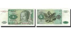 World Coins - Banknote, GERMANY - FEDERAL REPUBLIC, 5 Deutsche Mark, 1970-01-02, KM:30a
