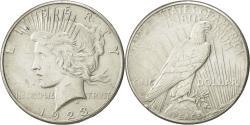 Us Coins - United States, Peace Dollar, 1923, San Francisco, AU(50-53), KM 150