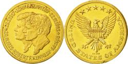 Us Coins - United States, Medal, John Fitzgerald Kennedy, EF(40-45), Gold