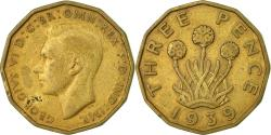 World Coins - Coin, Great Britain, George VI, 3 Pence, 1939, , Nickel-brass, KM:849