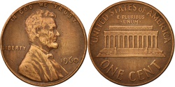 Us Coins - United States, Lincoln Cent, 1960, Philadelphia, , KM:201