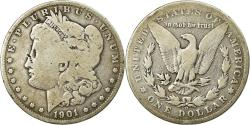 Us Coins - Coin, United States, Morgan Dollar,1901, New Orleans, , KM 110