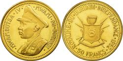 World Coins - Coin, Burundi, Mwambutsa IV, 50 Francs, 1962, , Gold, KM:4