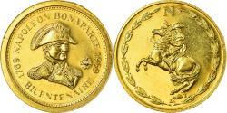 World Coins - France, Medal, Napoléon Bonaparte, Bicentenaire, 1969, MDP, , Gold