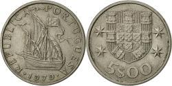 World Coins - Portugal, 5 Escudos, 1979, , Copper-nickel, KM:591