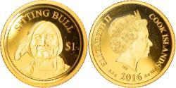 World Coins - Coin, Cook Islands, Elizabeth II, Dollar, 2016, Franklin Mint, , Gold