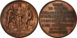 World Coins - France, Medal, Souscripteurs pour le Percement de l'Isthme, 1880, Roty