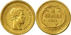 World Coins - Coin, Guatemala, Rafael Carrera, 4 Reales, Cuatro, 1861, , Gold, KM:135
