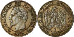 World Coins - Coin, France, Napoleon III, 5 Centimes, 1855, Bordeaux, , KM 777.5