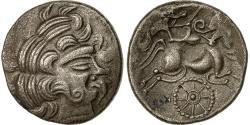 Ancient Coins - Coin, Redones, Stater, 80-50 BC, AU(55-58), Billon, Delestrée:2310