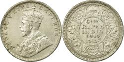 World Coins - Coin, INDIA-BRITISH, George V, Rupee, 1915, , Silver, KM:524