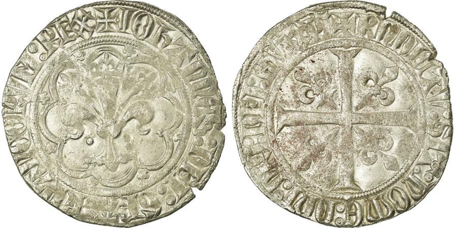World Coins - Coin, France, Gros, AU(50-53), Billon, Duplessy:304A