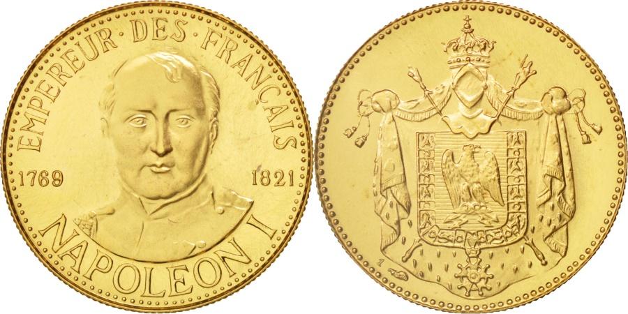 World Coins - France, Medal, Napoléon Ier empereur des Français, History, , Gold