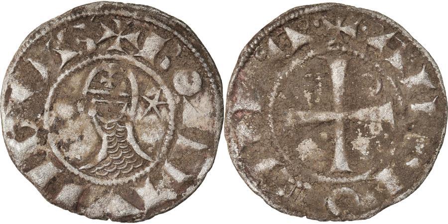 World Coins - Coin, Turkey, Crusader States, Bohemund III, Denier, 1163-1201, Antioch
