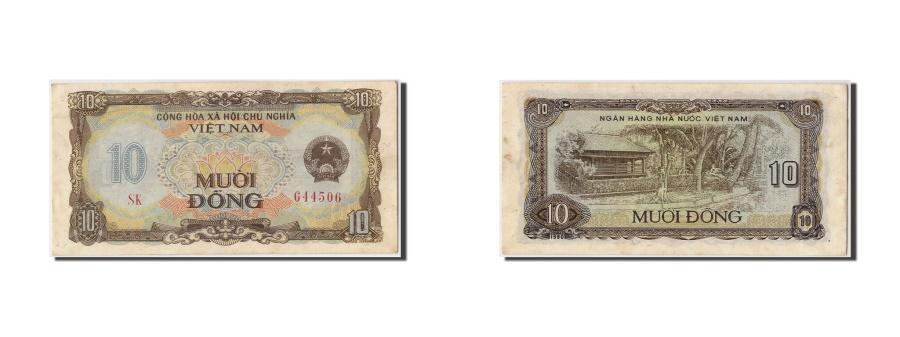 World Coins - Vietnam, 10 Dông, 1980, Undated, KM:86a, AU(55-58)