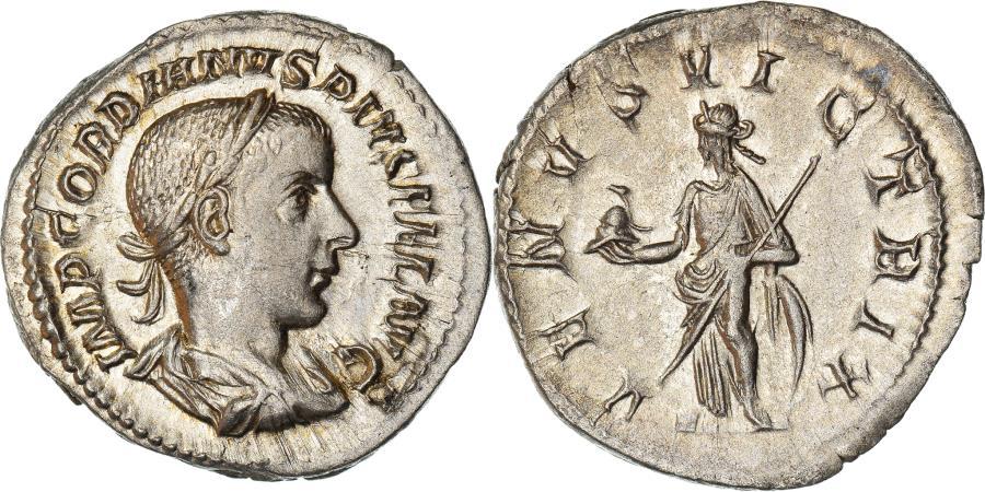 Ancient Coins - Coin, Gordian III, Denarius, 241, Roma, , Silver, RIC:131
