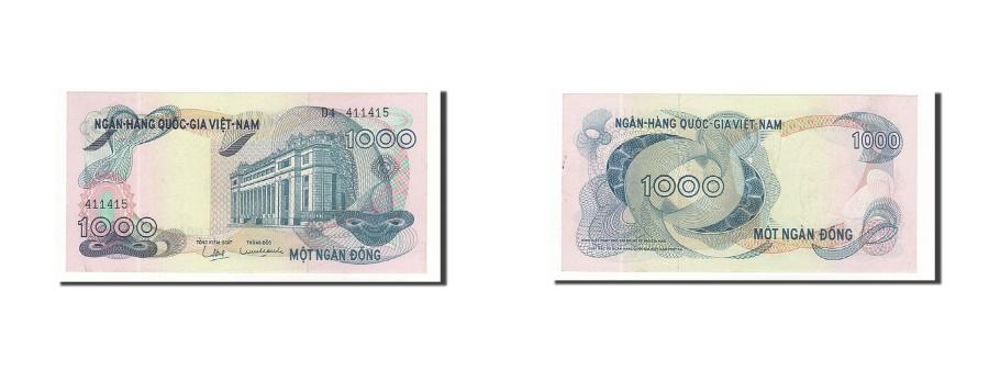 World Coins - South Viet Nam, 1000 Dông, 1969-1971, KM:29a, Undated, UNC(63)