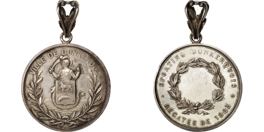 World Coins - FRANCE, Sports & leisure, French Third Republic, Medal, 1903, ,...