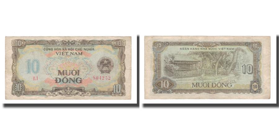 World Coins - Banknote, Vietnam, 10 Dng, 1980, KM:86a, VF(30-35)