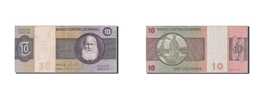 World Coins - Brazil, 10 Cruzeiros, 1979, KM #193c, AU(50-53), B04546069308
