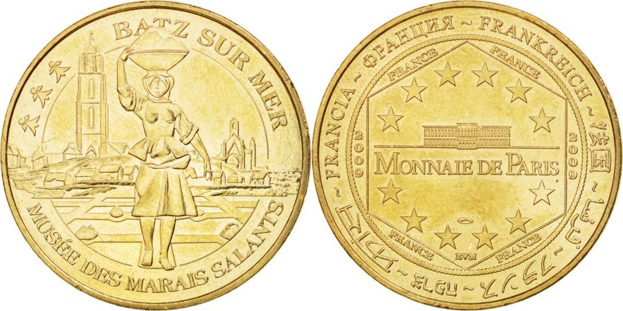World Coins - France, Tourist Token, 44/ Musée des Marais Salants - Batz-sur-Mer, 2009, MDP